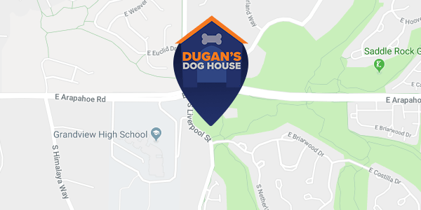 Dugan's Dog House Location Map