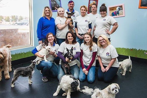 Dugan's Dog House team